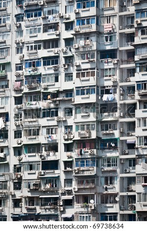 China Apartments - stock photo