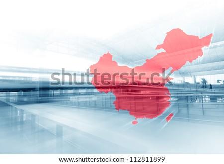 China Business - stock photo