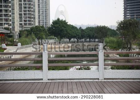 China Guangzhou City Scenery  - stock photo