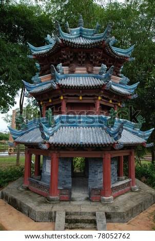 China Mosque - stock photo