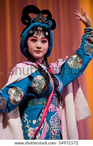 china opera Actress - stock photo