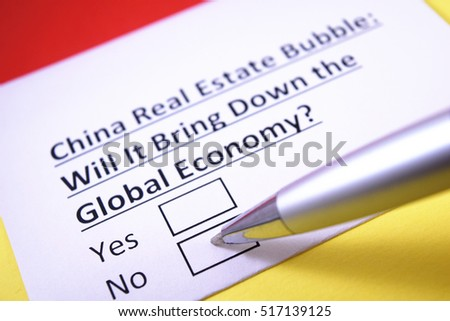 China Real Estate Bubble: Will it bring down the global economy? No