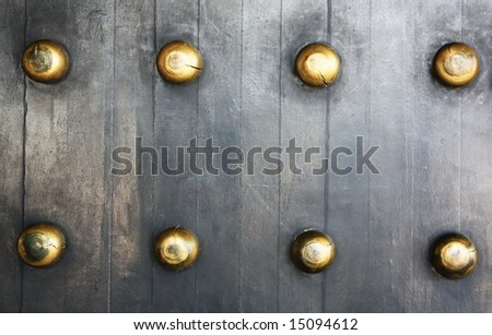 Chinese Ancient Palace Door - stock photo