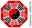 Chinese Bagua (Eight Trigrams) - stock photo