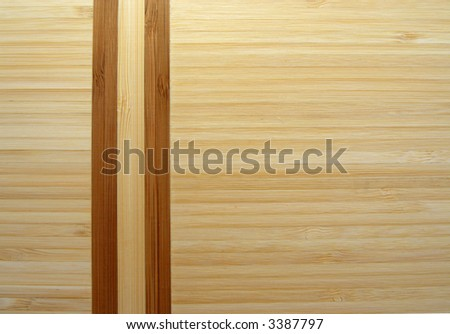Chinese Bamboo Chopping Board - stock photo