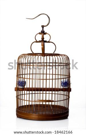 Chinese bird cage - stock photo