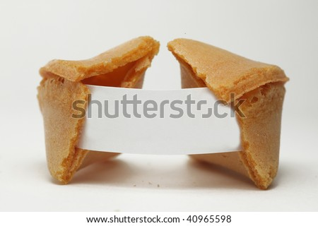 chinese cookie - stock photo