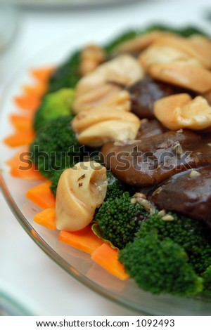 chinese cuisine - stock photo