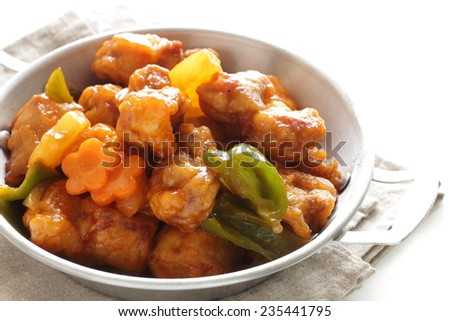 Chinese cuisine, sweet and sour pork