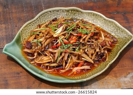 Chinese Dishes - stock photo