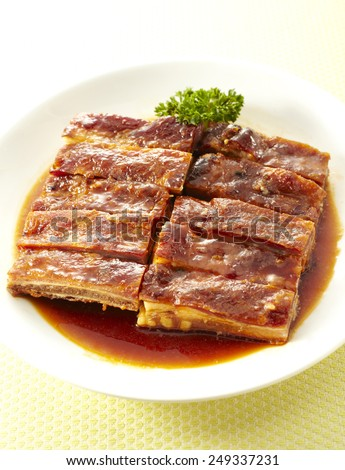 Chinese dishes,Pork ribs