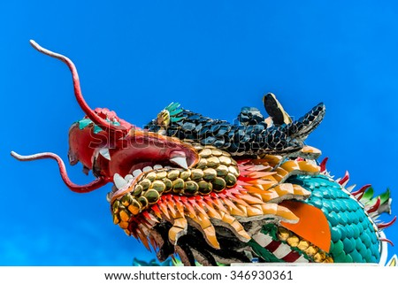 Chinese Dragon Head.