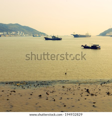 Chinese fishing boat Ocean