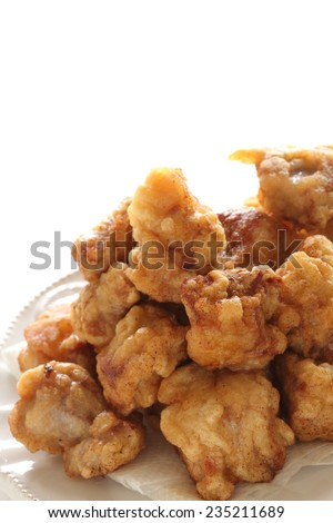 Chinese food, deep fried pork