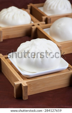 Chinese food, steamed buns