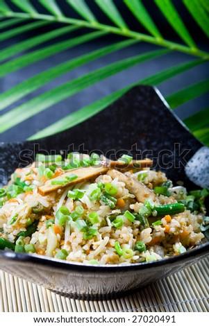 chinese fried rice - stock photo