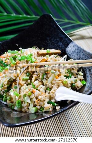 chinese fry rice - stock photo