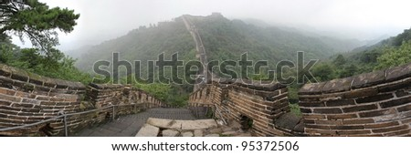 chinese great wall - stock photo