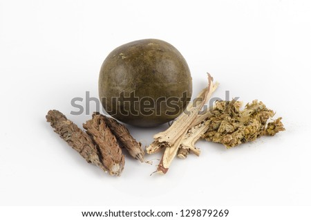 Chinese herbal tea for health. - stock photo