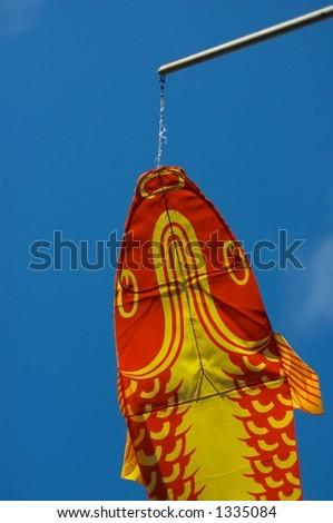 Chinese Kite - stock photo