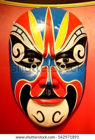 Chinese mask. - stock photo