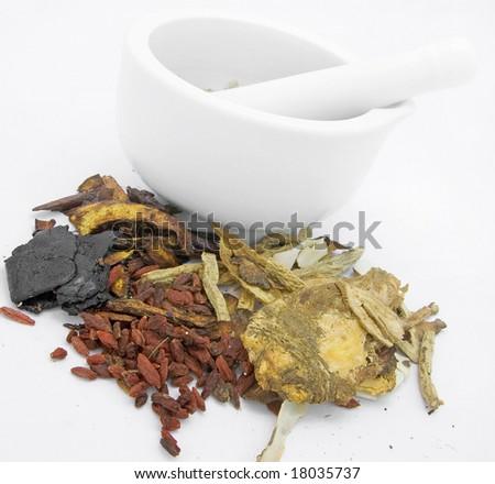 Chinese Medicine - stock photo
