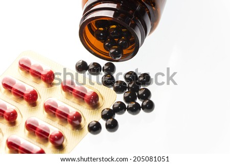 Chinese medicine, Gynecological medicine - stock photo