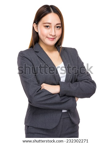 Chinese mixed indonesian businesswoman