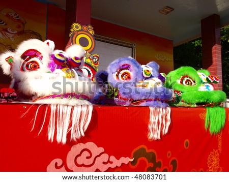 Chinese new year celebration - stock photo