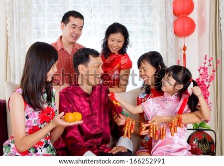 Chinese New Year Celebrations - stock photo