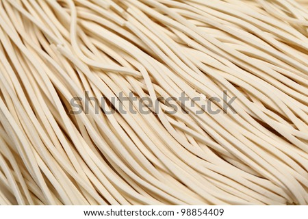 chinese noodle,uncook