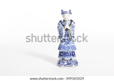 Chinese old ceramic figure