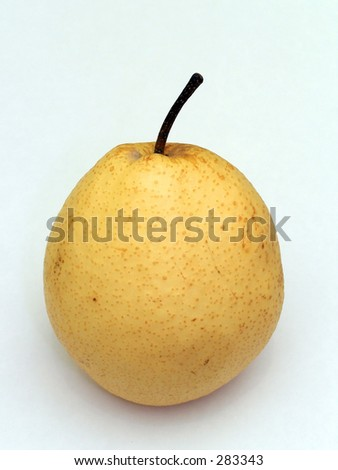 Chinese pear - stock photo