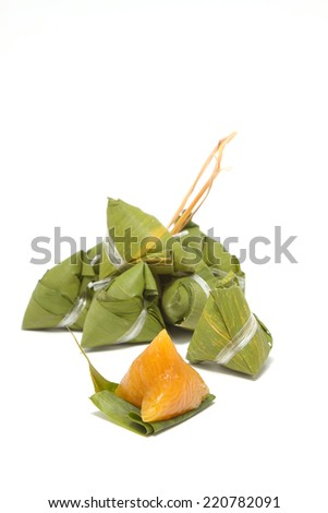 Chinese Rice Dumplings - stock photo