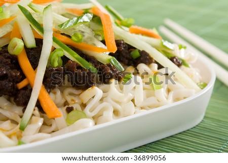 Zhajiang Noodles (Zha Jiang Mian) Recipe — Dishmaps