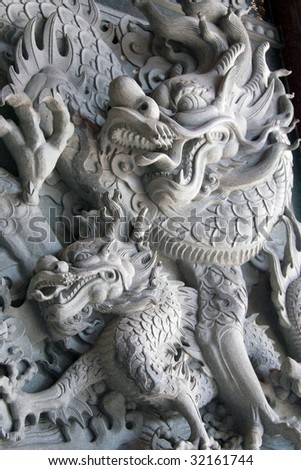 chinese statue dragon