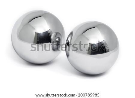 Chinese stress balls - stock photo