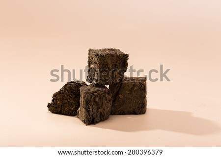 Chinese tea - black tea - stock photo