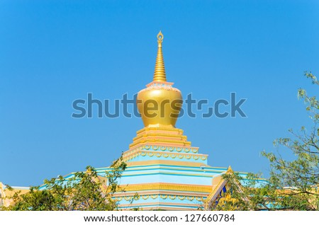Chinese temple in bangkok province.