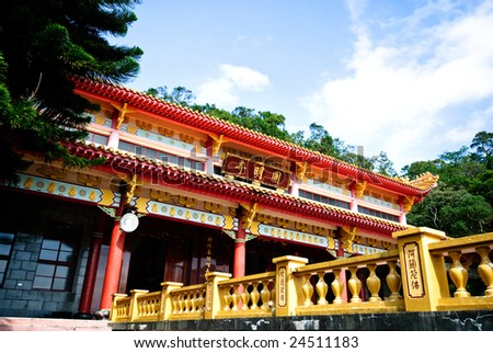 Chinese temple of Buddhism