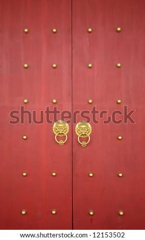 Chinese Traditional Crimson Wooden Door & China Door Stock Images Royalty-Free Images \u0026 Vectors | Shutterstock Pezcame.Com
