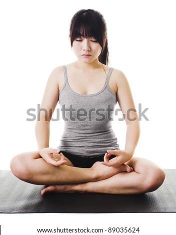 Women Sitting Cross Legged