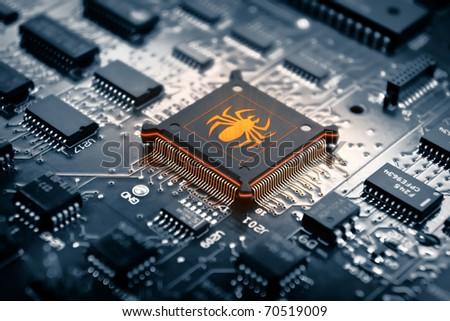 Chip Killer - stock photo