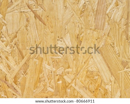 Chipboard texture for background - stock photo