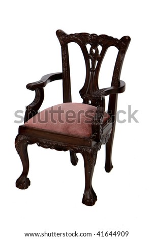 Chippendale Chair - stock photo