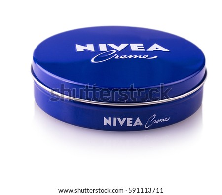 Chisinau, Moldova March 02, 2017:  Nivea global skin- and body-care brand owned by the German company Beiersdorf.