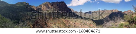 Chisos Mountains in Big Bend National Park, Texas
