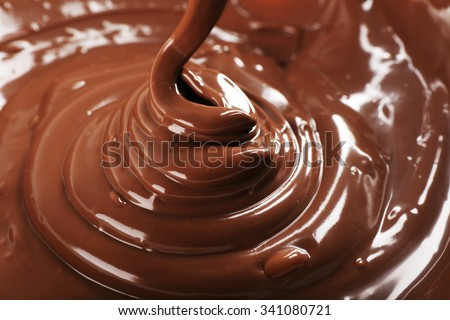 Chocolate as background - stock photo