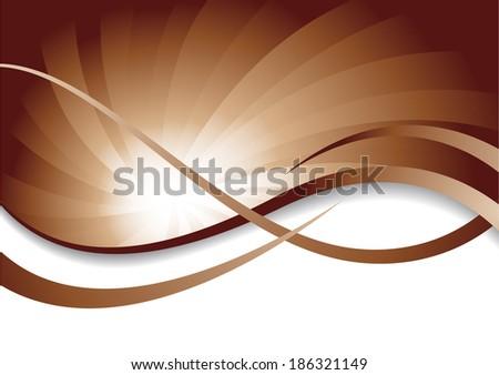 chocolate background; clip-art, raster copy - stock photo