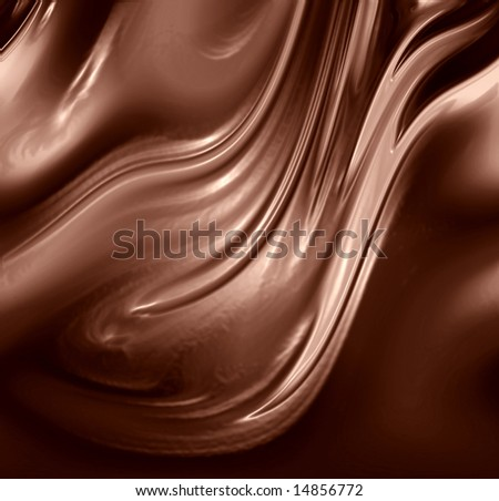 chocolate background with some smooth lines